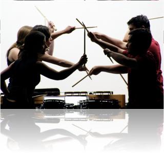 McGill Percussion Ensemble photo: Arnaud Lavergne