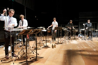 McGill Percussion Ensemble, Harold Kilianski, photo