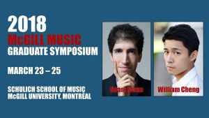 MGSS Graduate Symposium 2018 @ MGSS - McGill Music Graduate Students' Society   Montreal   QC   Canada